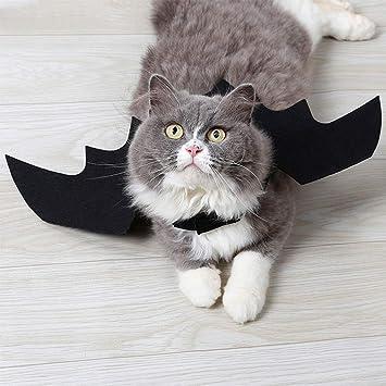 Decoración para el hogar regalo ideal Alas de murciélago de disfraces para mascotas, Batas de