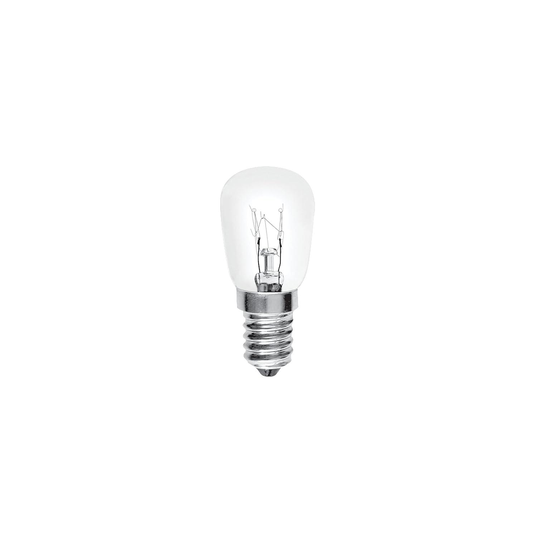 Bulk Hardware BH02400 Appliance Pygmy Bulb, 15 W Small Edison Screw - Pack of 2