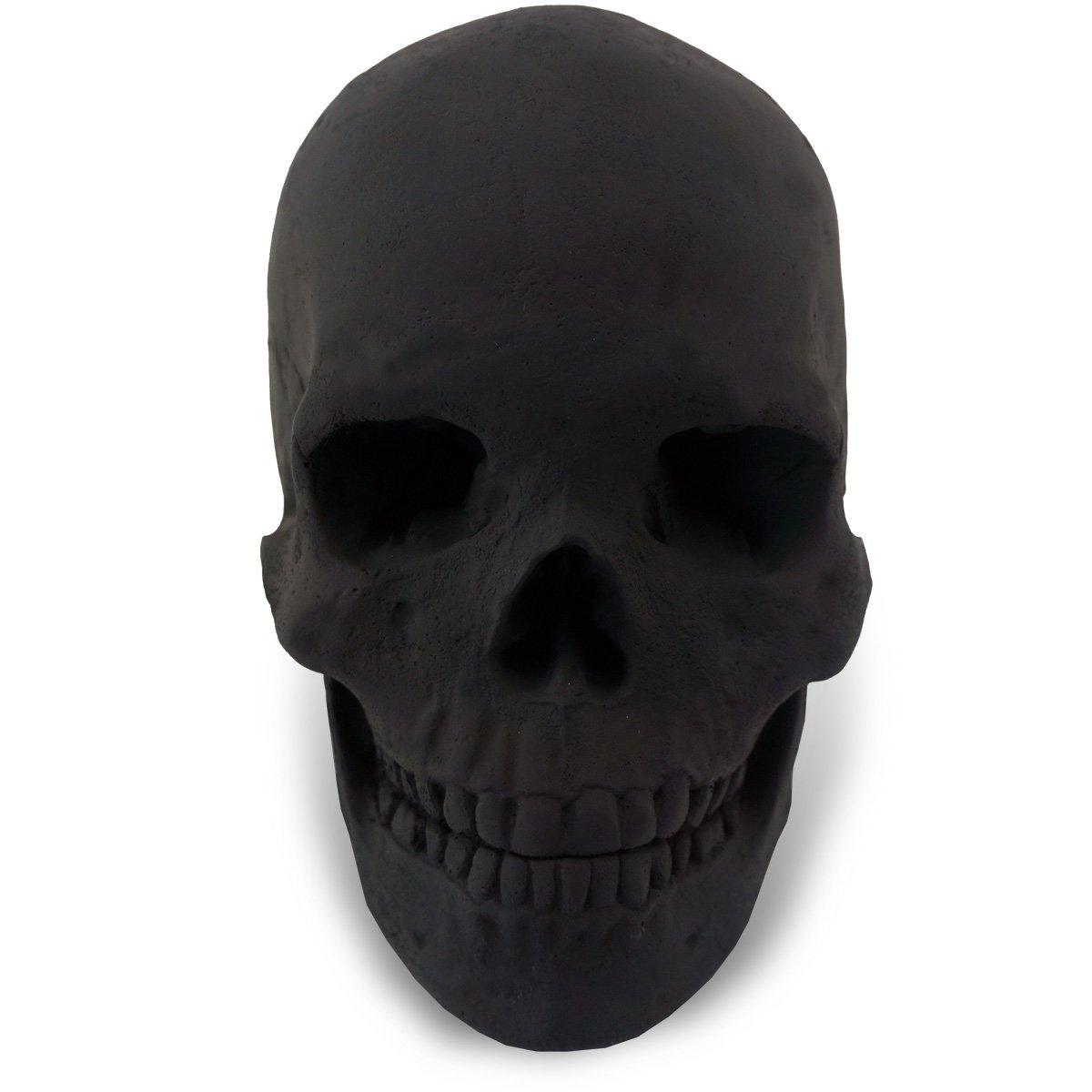 amazon com fire pit skull full size human replica fire pit