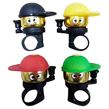 Amazon.com: Jshuang 2 Pc Bicycle Cartoon Bells, Childrens ...