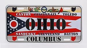 Dimension 9 Home Decorative Plate, Ohio