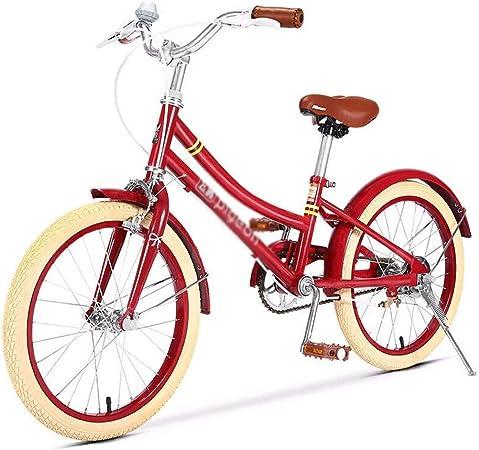 Long Las niñas de 20 Pulgadas de la Bici con Pata de Cabra, Bicicletas 20 Pulgadas Red City Bike, Bicicleta de Acero al Carbono de Alta capítulo for el 10-16 Muchacha año:
