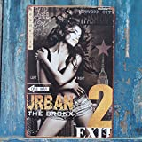 Urban The Bronx Retro Metal Tin Signs Ad Poster Pub Bar Home Decor