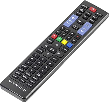 Vivanco RR 220 Mando a Distancia Universal para Samsung y LG, Compatible Smart TV: Amazon.es: Electrónica