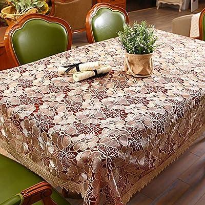 ZB Rural de agua vidrio soluble hilo bordado satinado manteles cubren mantel de paño de mesa de mesa de centro cuadrada de toalla , wine red , 110*110cm