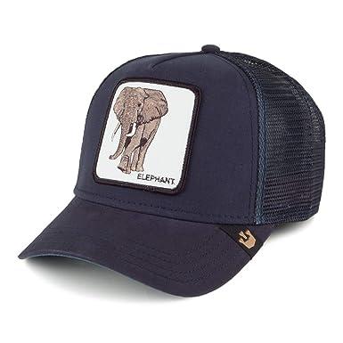 couleurs délicates la qualité d'abord prix de détail Goorin Casquette Trucker Elephant Bleu Marine Ajustable ...