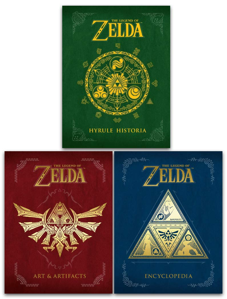 The Legend Of Zelda Collection 3 Books Set Hyrule Historia Encyclopedia Art And Artifacts Nintendo Games The Legend Of Zelda Hyrule Historia By Shigeru Miyamoto 978 1616550417 9781616550417 1616550414 Legend Of Zelda