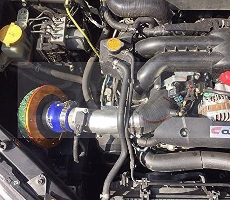 Subaru WRX 08 - 14/legado 05 - 09/Forester XT 09 - 13 ej25 Turbo Inlet silicona: Amazon.es: Coche y moto