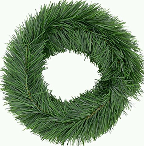 15 FT ++ ++ WIRED HOLIDAY GREEN PINE GARLAND CHRISTMAS DECOR INDOOR/OUTDOOR