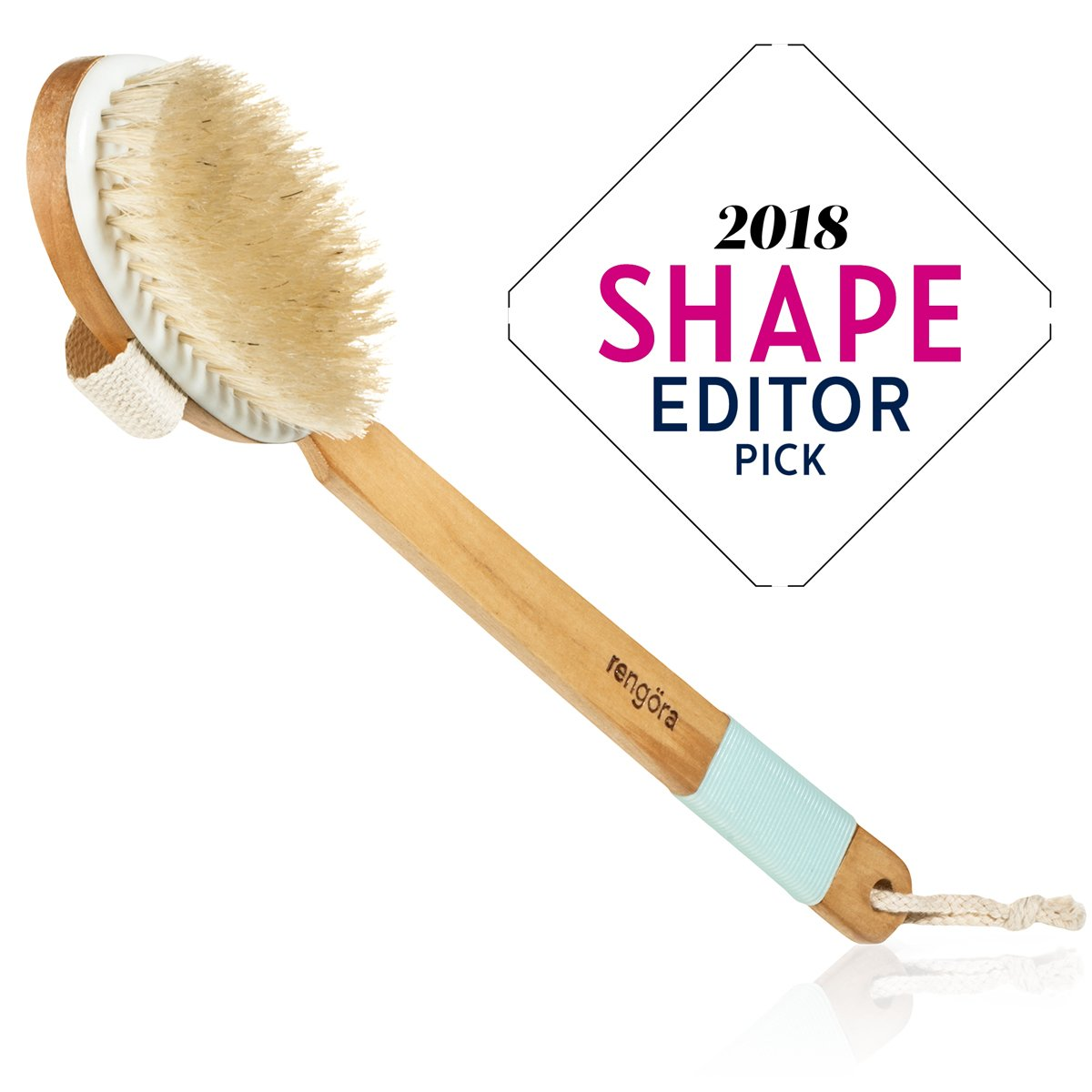 Dry Brushing Body Brush - Exfoliating Brush for Skin Care - Best for Massage, Dry Skin, Removing Dead Skin, Lymphatic Drainage, and Cellulite Treatment. Achieve Healthy Skin Today! rengöra