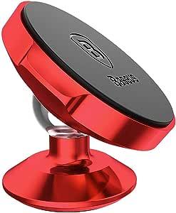 بيسوس مسكة خلفية متعددة الاستخدامات للاجهزة المحمولة - اسود واحمر