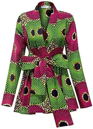 Amazon.com: Shenbolen Women African Traditional Batik