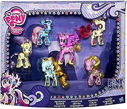 Amazon.es: My Little Pony Friendship is Magic Friendship Blossom Collection Exclusive 3... by: Juguetes y juegos