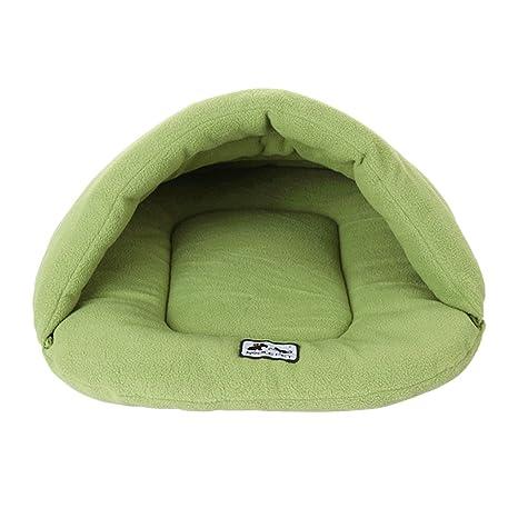 YJZQ - Saco de Dormir Suave para Mascotas, Gatos, Cuevas y Casas, Forro