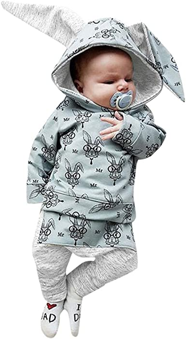 For 0-24 Months Baby,DIGOOD Toddlers Infant Baby Girls Boys Winter Hooded Coat Cloak Jacket Thick Warm Clothes