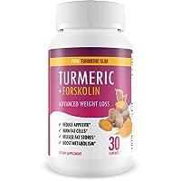 Pure Turmeric Slim - Turmeric + Forskolin - Keto Diet Support - Burn Fat Not Carbs!