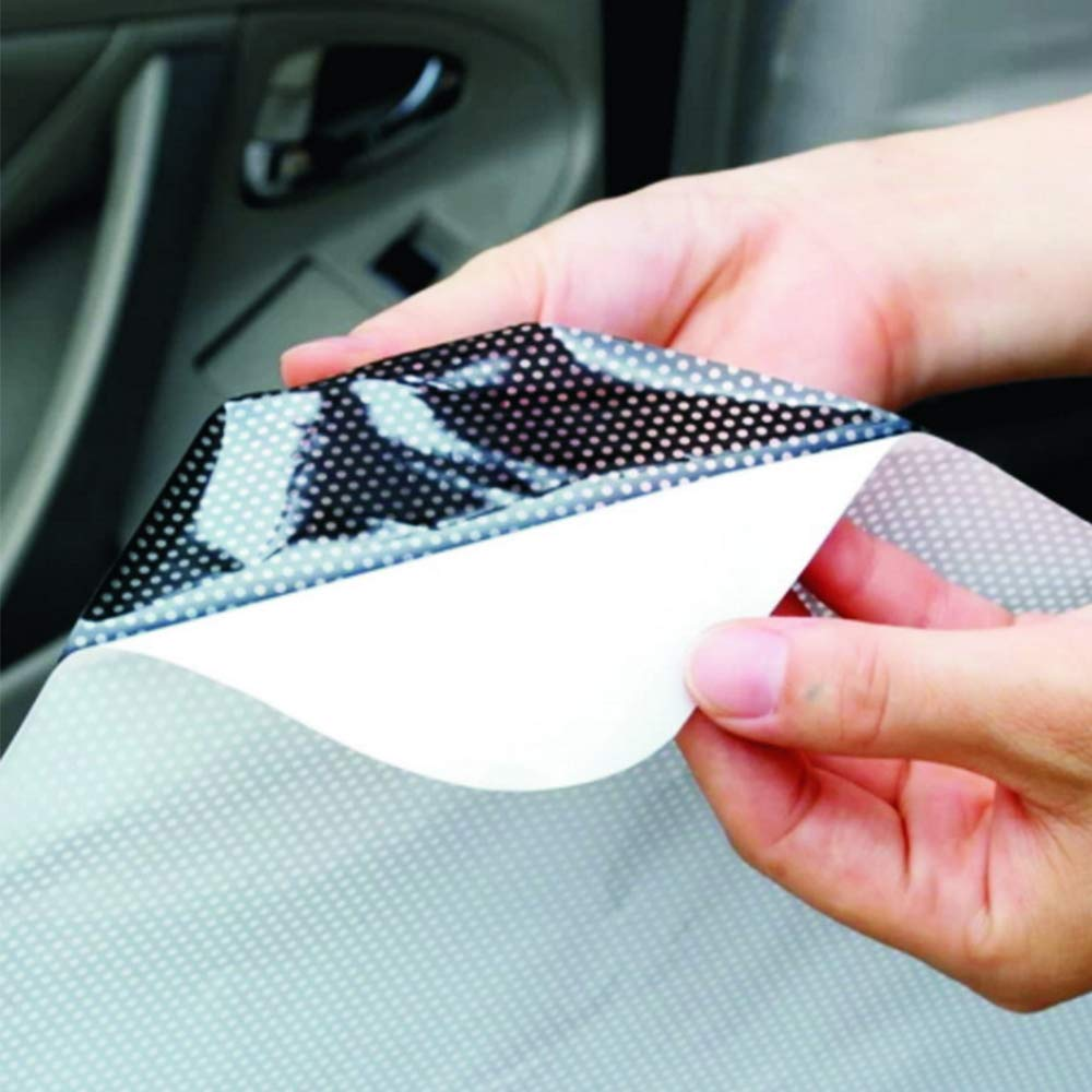 yyuezhi Autoadesivi per la Protezione Solare per Neonati Finestra UV per Finestra con Protezione Solare 42cm 38cm Protezione Solare per Finestra Posteriore Nera 4 Visiera Parasole Alta qualit/à