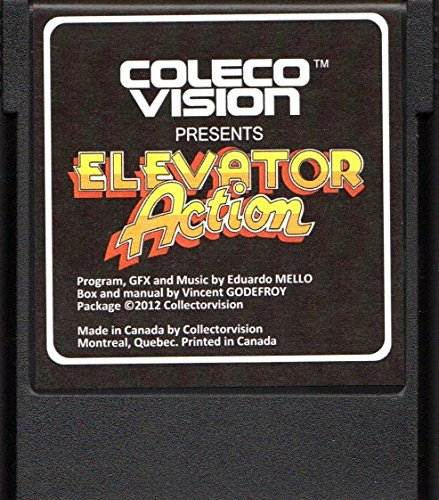 ELEVATOR ACTION, COLECOVISION