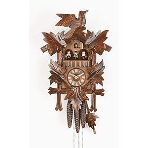 Sternreiter Bird and Leaf Cuckoo Clocks