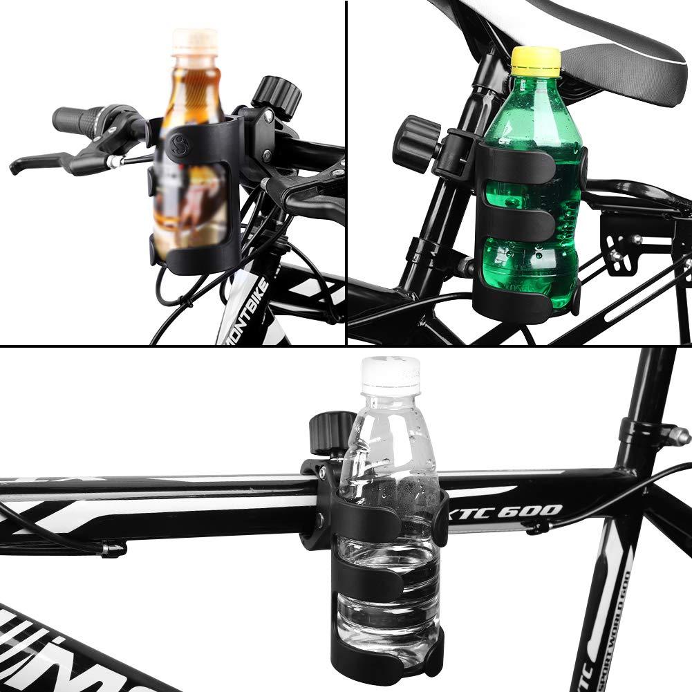 Accmor Stroller Cup Holder, Bike Cup Holder, Universal Cup Holder, 360 Degrees Rotation Drink Holder for Stroller, Walker, Wheelchair, Trolleys,2pack. by Accmor (Image #6)