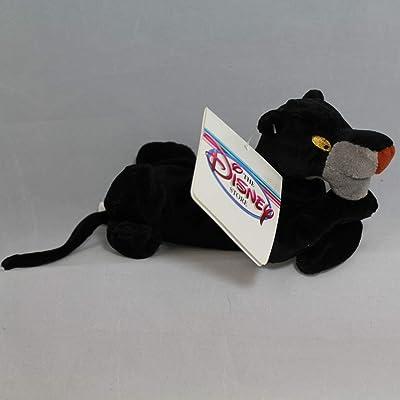 """Disney Bean Bag Plush Jungle Book Bagheera 8"""": Toys & Games"""