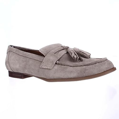 Tommy Hilfiger Sonya - Mocasines de Ante para Mujer Beige marrón, Color Beige, Talla 38,5 EU: Amazon.es: Zapatos y complementos