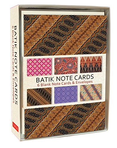(Batik Note Cards: 6 Blank Note Cards & Envelopes (4 x 6 inch cards in a box))