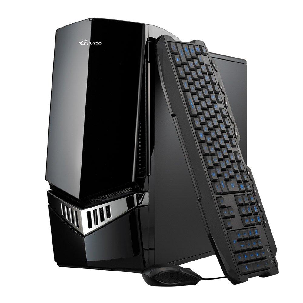 mouse ゲーミング デスクトップパソコン G-Tune NG-F7K13SHBG8AB3ZD/Corei7 8700K/1080/16GB/240GB/3TB/Win10/Office B07CZWZTTN Windows 10 Home 64ビット/3年センド