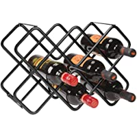 mDesign Estante para Botellas y Vino – Bonito