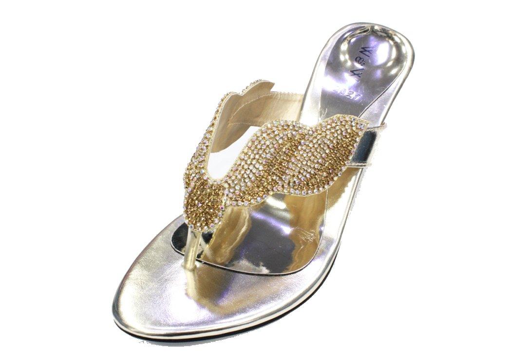 L usure et Walk UK B001949G88 Femme 4–10 pour Femme Mariage Soirée Fashion Sandale Confortable à Enfiler Diamante Fête de Mariage Bloc Talon Chaussures Taille 4–10 (Reena) Doré 5609d55 - automaticcouplings.space