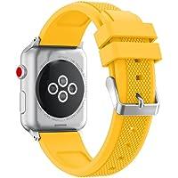 Becoler Correa de reloj reemplazable para Apple Watch Series 42MM