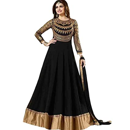 Amazon.com: Women\'s Anarkali Salwar Kameez Designer Indian Dress ...
