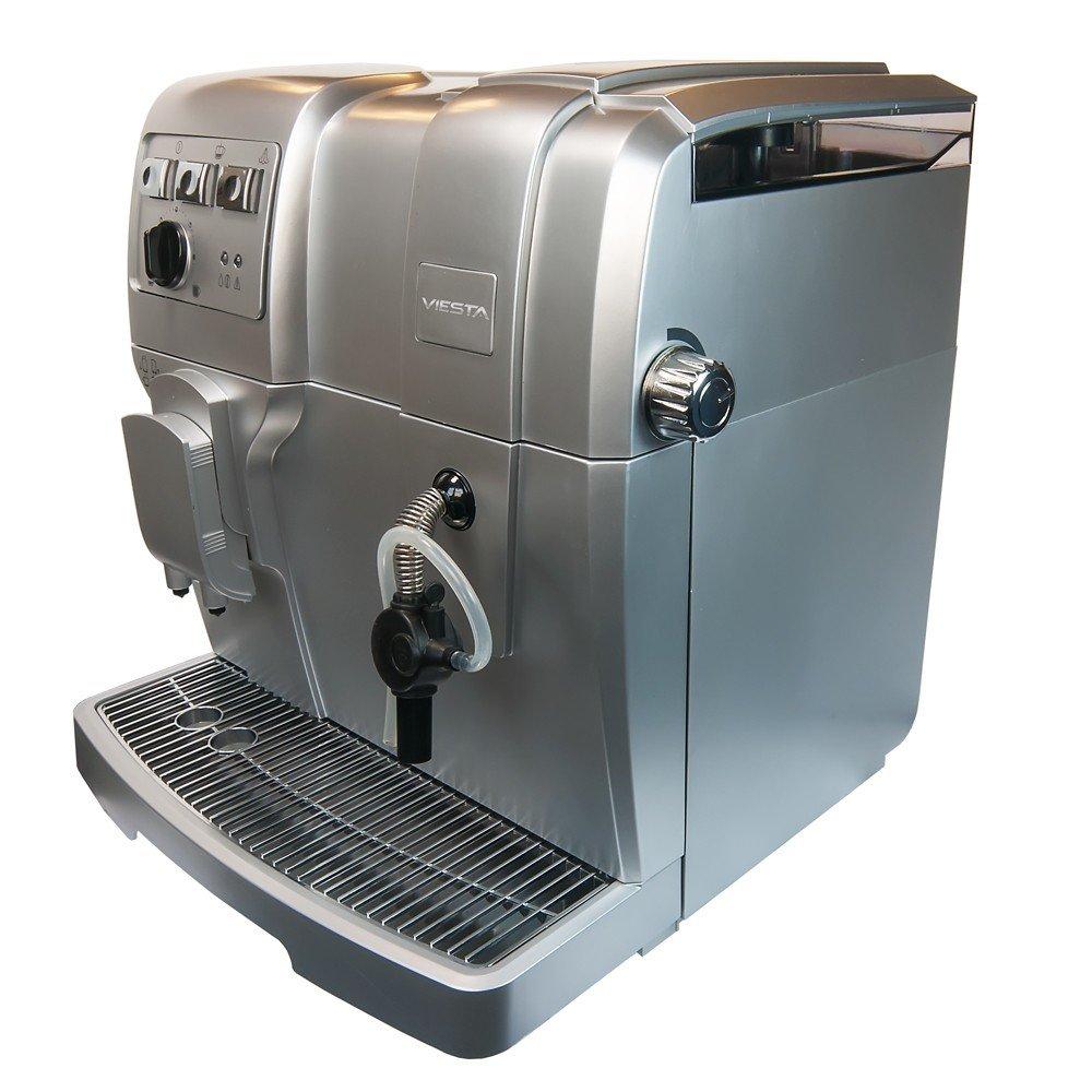 Viesta Eco100 - Cafetera automática, 1500 W, color plateado: Amazon.es: Hogar
