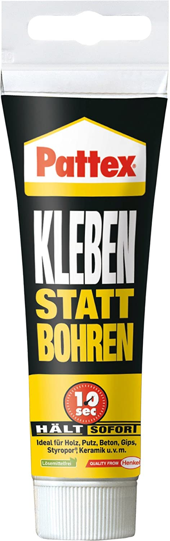 Pattex Kleben statt Bohren Montagekleber, 1 Stü ck, PKB07-1 Henkel 1590193