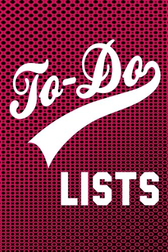 Download To-Do Lists: 6x9 Checkoff Journal With 150 Daily Lined To-Do Lists with 14 Check-boxes - Pink PDF