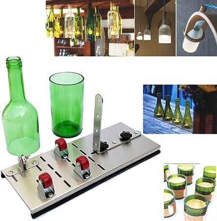 Máquina de corte de botellas de vidrio, botella de vino de vidrio ...