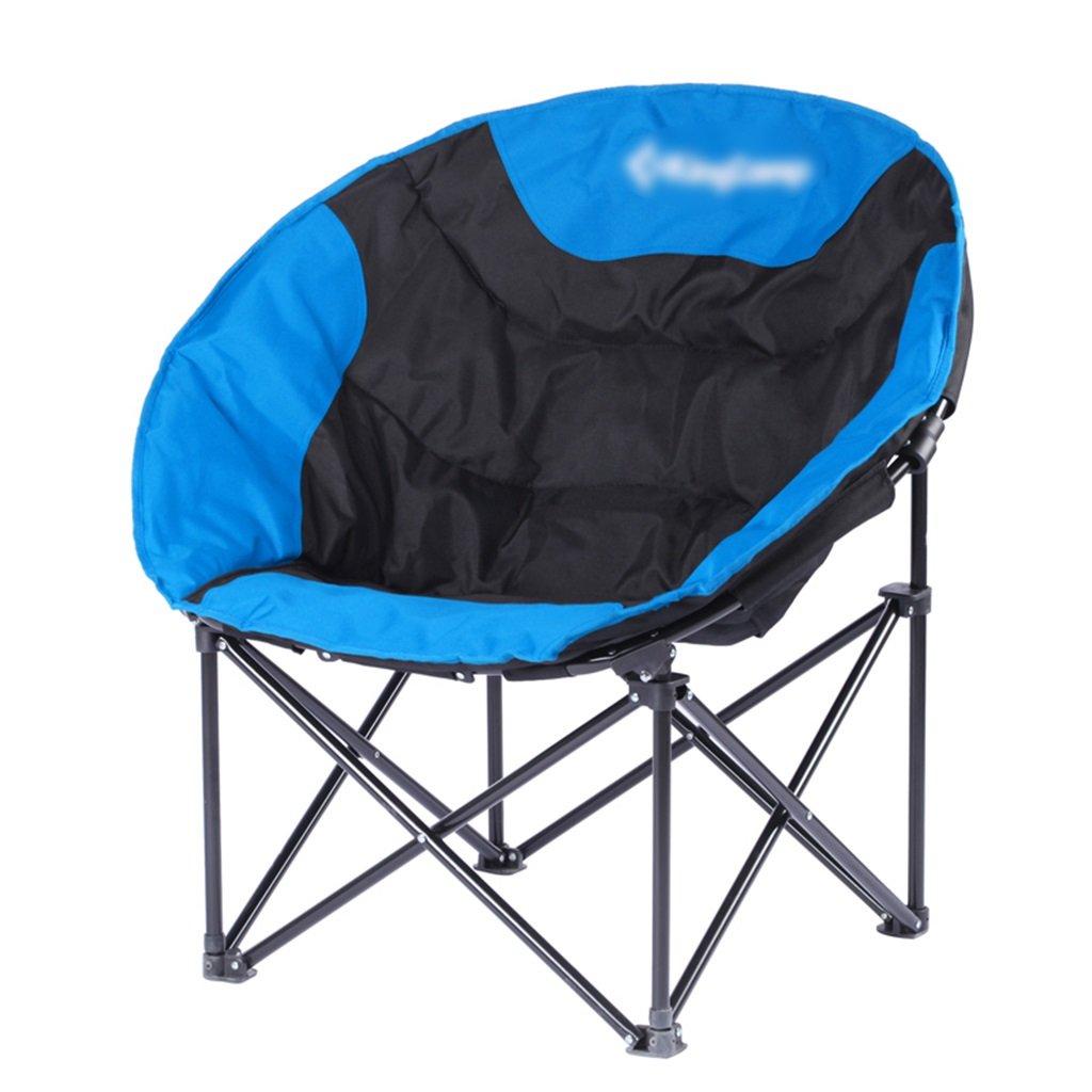 ZGL 旅行椅子 屋外バックライト超軽量釣り椅子レイジー折りたたみチェアポータブルチェアカジュアルダイニングチェアランチラウンジライトの色オプション ( 色 : Blue-1 ) B07C77CGVZ Blue-1 Blue-1