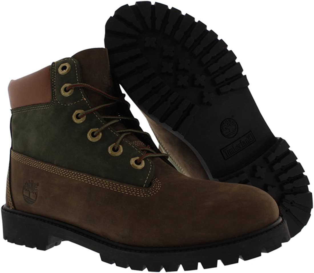 Timberland Pokey Pine 6in Boot with Side Zip Bottes /& Bottines classiques Mixte Enfant