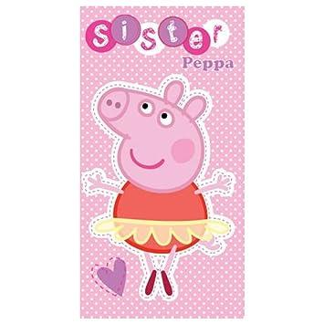 tarjetas de cumpleaños Peppa Pig: Amazon.es: Juguetes y juegos