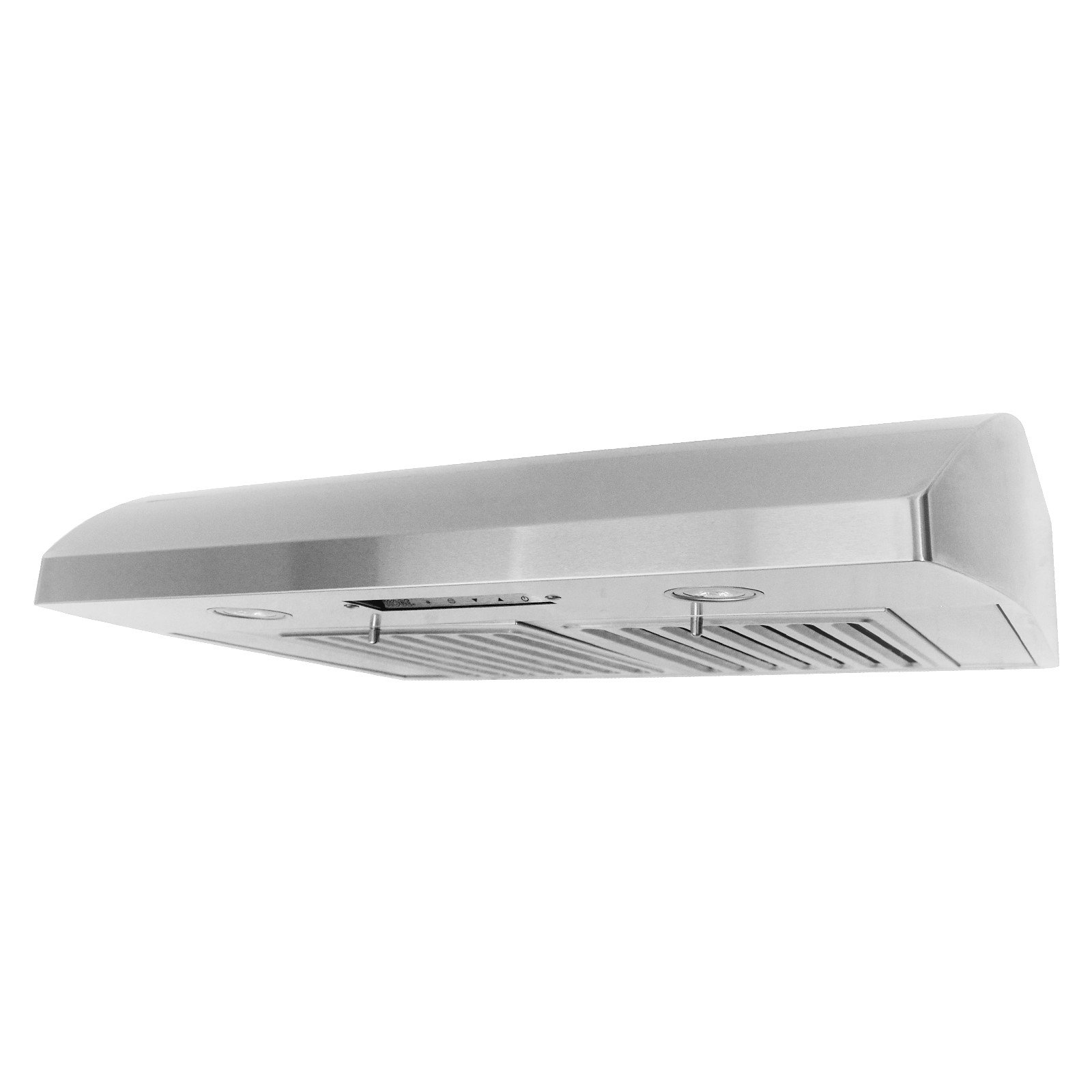 KOBE CH2236SQB-5 Deluxe 36'' Under Cabinet Range Hood, 6-Speed, 640 CFM, LED Lights, Baffle Filters