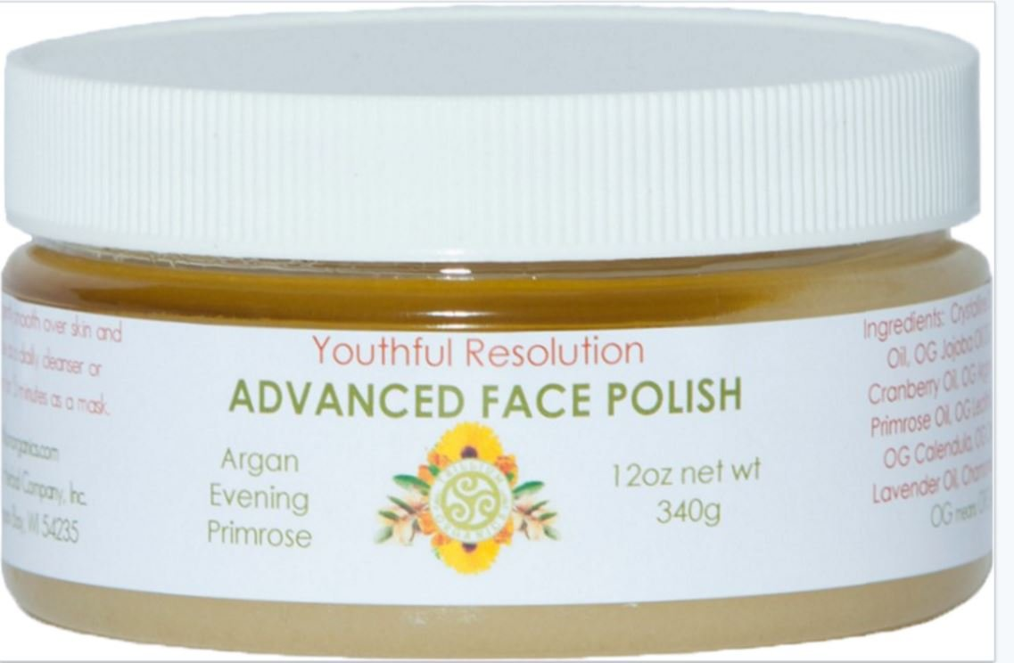 Face Polish Advanced Primrose & Cranberry Wrinkle Relief By Trillium Trillium Organics