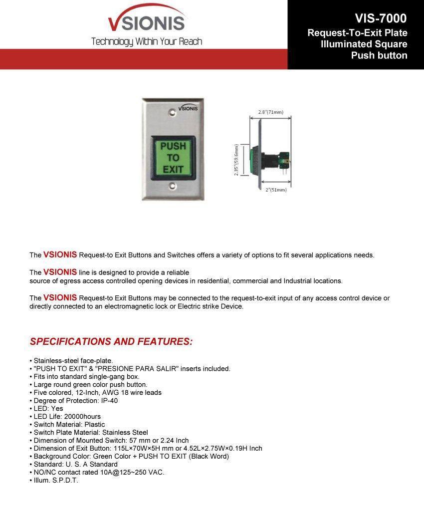 61pGb srQPL._SL1064_ amazon com visionis fpc 5210 vs one door access control  at suagrazia.org