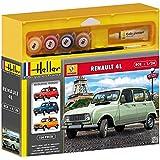 Heller - 50759 - Maquette - Voiture - Renault 4l - Echelle 1/72 - Kit