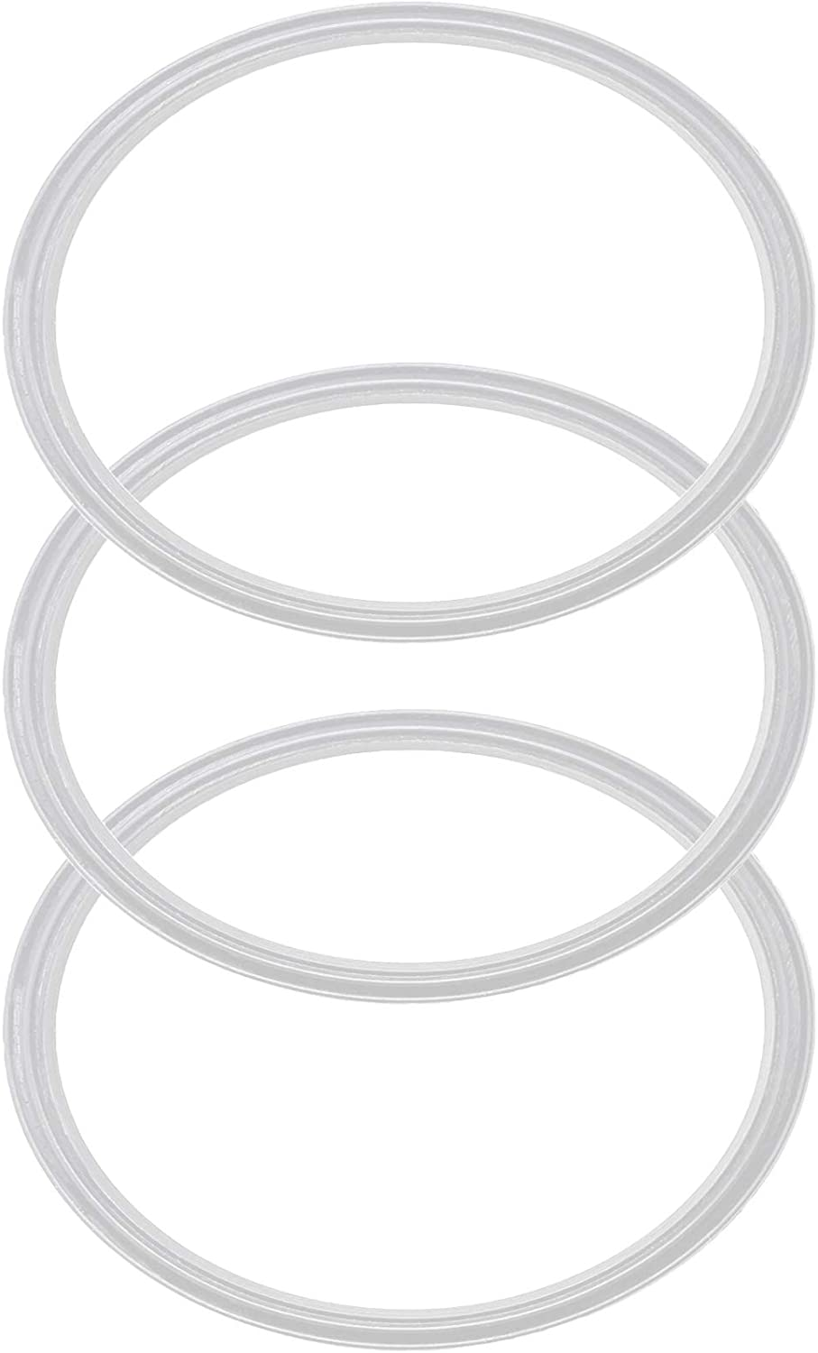 Pack of 3-30 oz Replacement Rubber Lid Ring, Gasket Seals, Lid for Insulated Stainless Steel Tumblers, Cups Vacuum Effect, fit for Brands - Yeti, Ozark Trail, Beast, White Model 2019