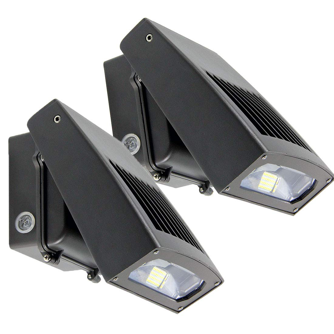 2 Pack Dakason 30w Led Wall Dusk To Dawn Quick Tip 16 Threeway Twoway Or Oneway Switch Misterfixit Photocell Adjustable Head Full Cut Off Security Light 5000k 3300lm Replaces 100 150w Hps Hid