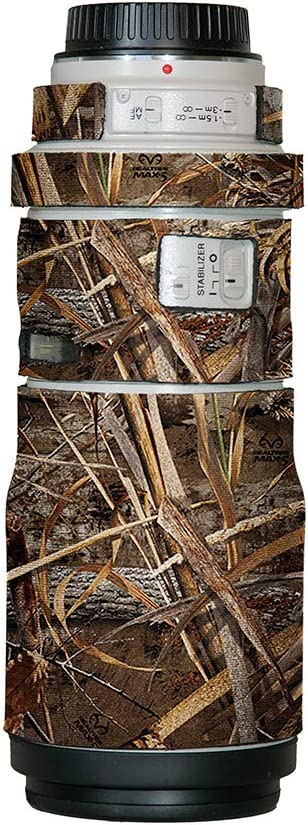 LensCoat Cover Camouflage Neoprene Camera Lens Protection (Real Tree Max5) Lens Cover for Canon 300Is F/4 Camouflage Neoprene Camera Lens Protection Sleeve, Realtree Max5 (lc3004m5)