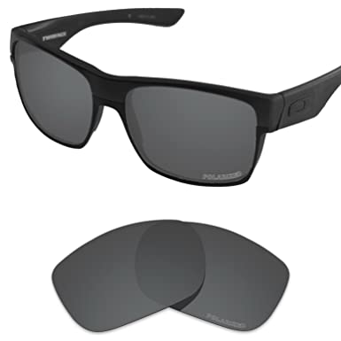 d342f9e0414 Tintart Performance Lenses Compatible with Oakley TwoFace Polarized  Etched-Carbon Black