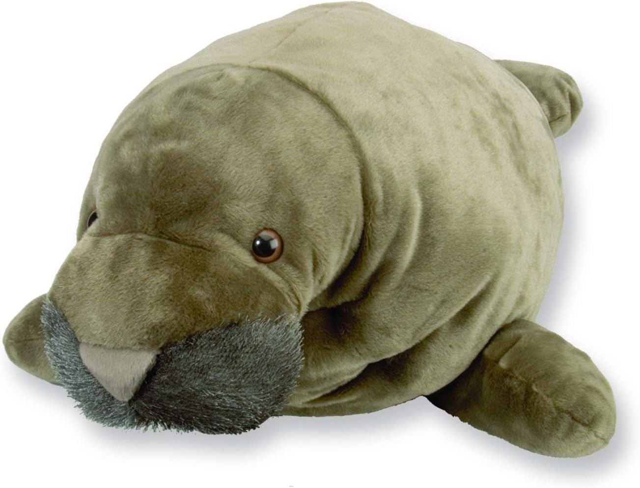 Wild Republic Jumbo Manatee Plush, Giant Stuffed Animal, Plush Toy, Gifts for Kids, 30 Inches