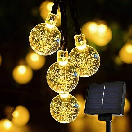 30 LED Ball Solar Party Fairy Outdoor String Lights for Patio /& Garden UK