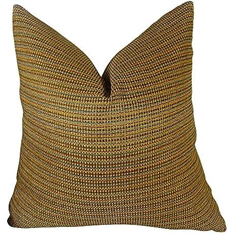 Plutus Brands Plutus Chuleta Handmade Throw Pillow 20 X 36 King Copper Brown